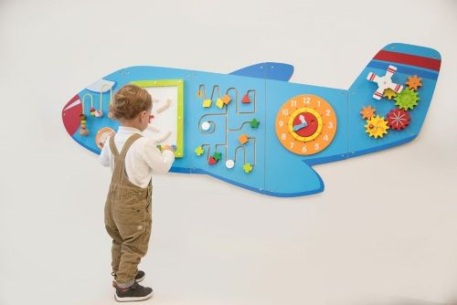 Aeroplane Activity Wall Panels Set (Free Delivery)
